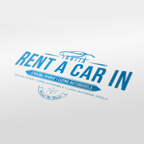Rent a Car IN Logo
