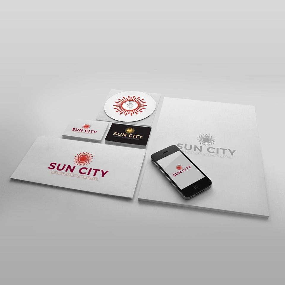 SUN CITY brending